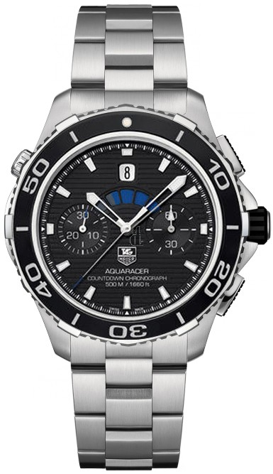 Replica Tag Heuer Aquaracer Caliber 72 500m Mens Automatic Chronograph CAK211A.BA0833