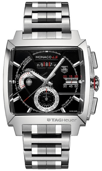 Replica TAG Heuer Monaco Calibre 12 LS Automatic Chronograph 40.5 mm  CAL2110.BA0781