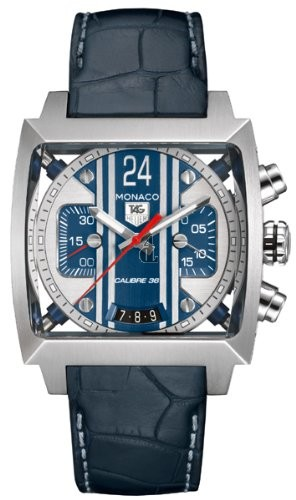 Replica TAG Heuer Monaco 24 Calibre 36 Automatic Chronograph 40.5 mm CAL5111.FC6299