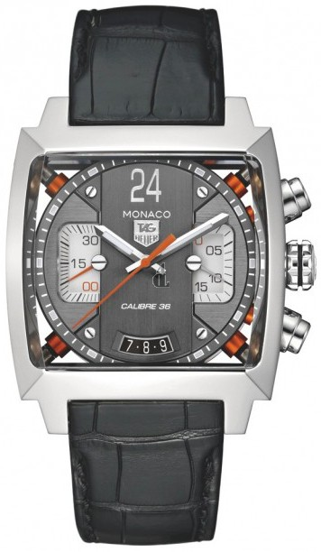 Replica TAG Heuer Monaco 24 Calibre 36 Limited edition Automatic Chronograph 40.5 mm  CAL5112.FC6298