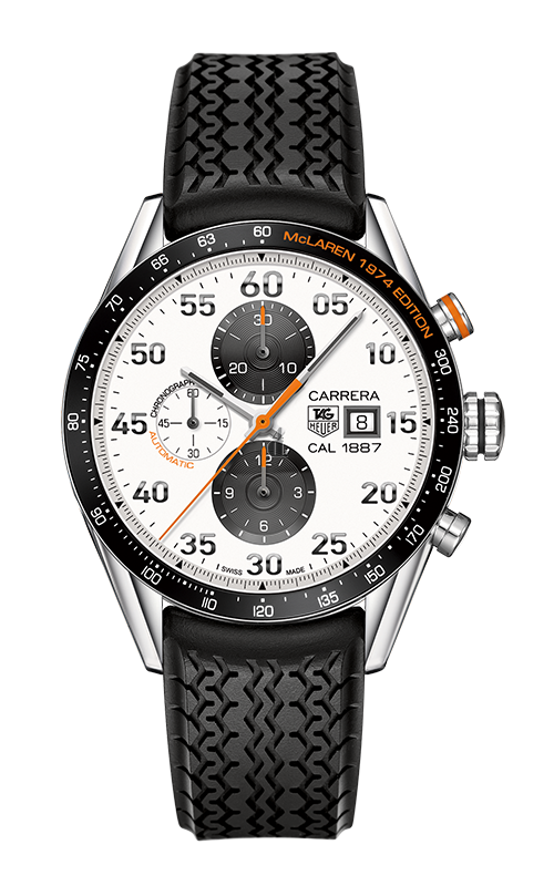 Replica Tag Heuer Carrera Calibre 1887 Chronograph McLaren 1974 Limited Edition CAR2A12.FT6033