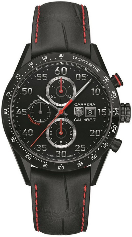 Replica TAG Heuer Carrera CALIBRE 1887Automatic Chronograph 43 mm CAR2A80.FC6237
