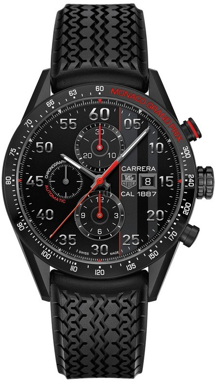 Replica Tag Heuer Carrera Calibre 1887 Chronograph Monaco Grand Prix Limited Edition CAR2A83.FT6033
