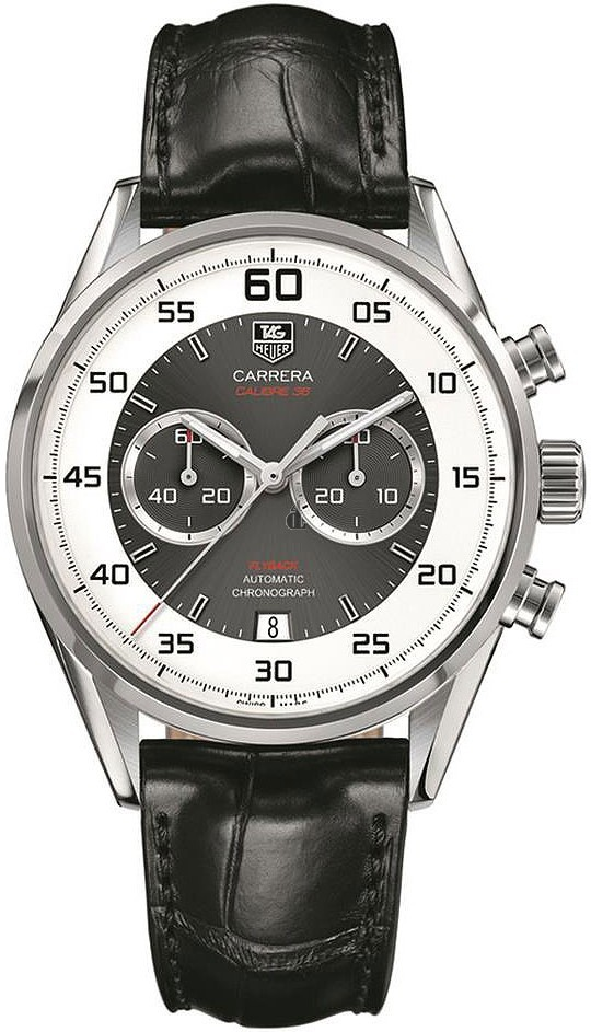 Replica TAG Heuer Carrera Calibre 36 Flyback Automatic Chronograph 43 mm CAR2B11.FC6235