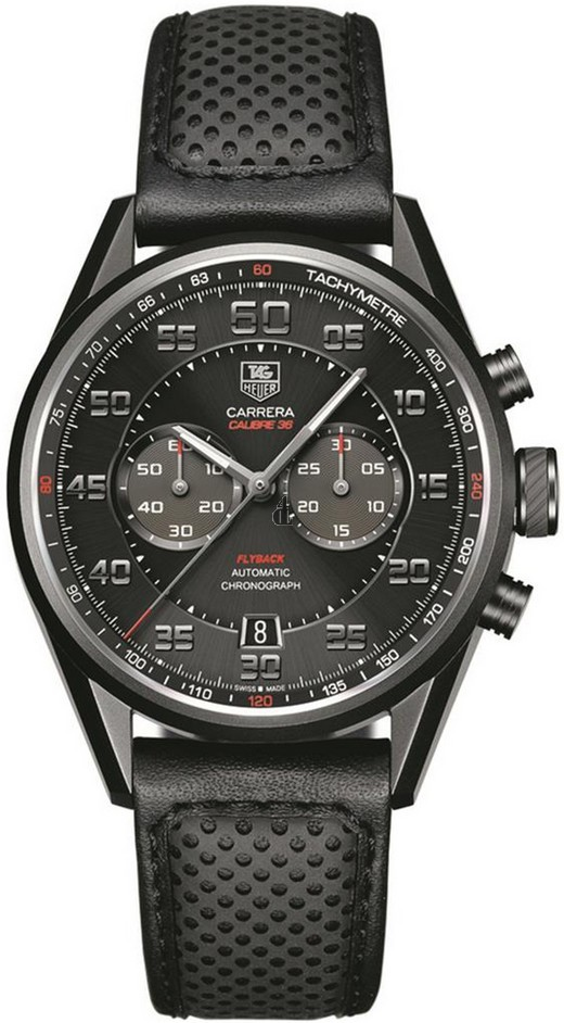 Replica TAG Heuer CarreraCalibre 36Automatic Flyback Chronograph43mm CAR2B80.FC6325