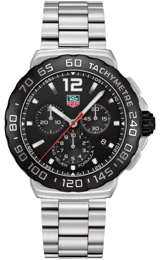Replica Tag Heuer Formula 1 Chronograph 42mm Mens Watch CAU1110.BA0858