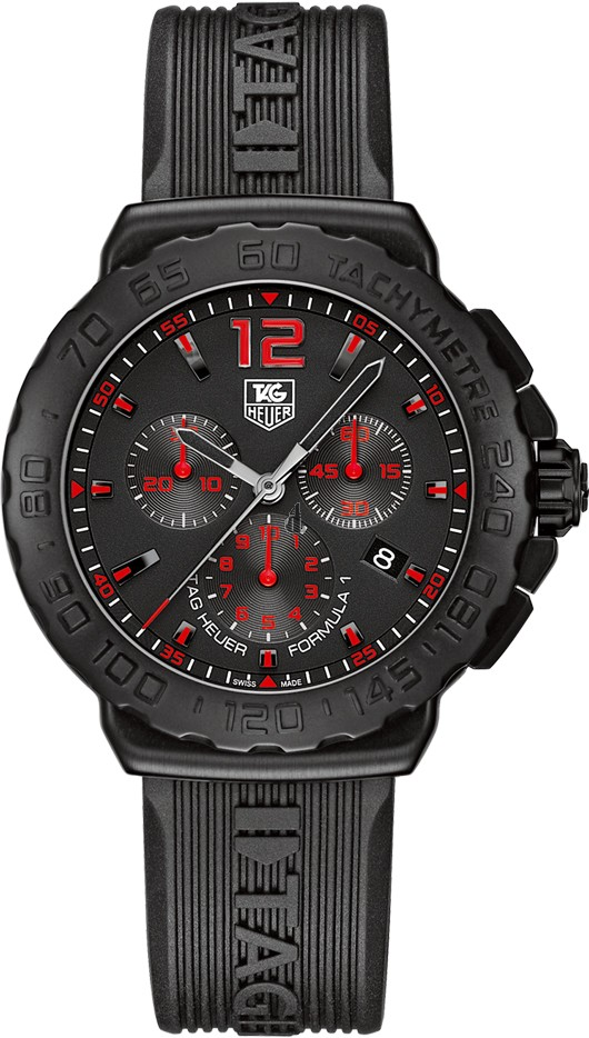 Replica Tag Heuer Formula 1 Chronograph 42mm Mens Watch CAU111A.FT6024