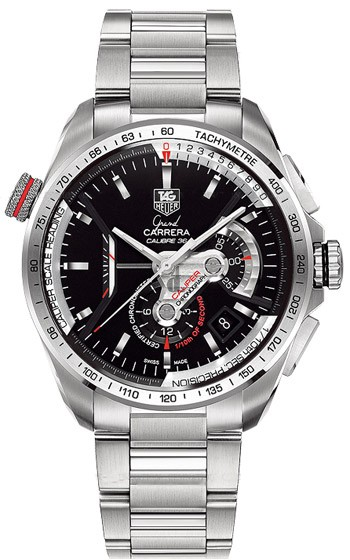 Replica TAG Heuer Grand Carrera Calibre 36 RS Caliper Automatic Chronograph 43 mm CAV5115.BA0902