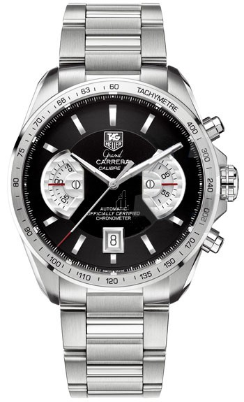 Replica TAG Heuer Grand Carrera Calibre 17 Automatic Chronograph 43 mm CAV511A.BA0902