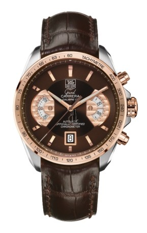 Replica TAG Heuer Grand Carrera Calibre 17 RS Mens Watch CAV515C.FC6231