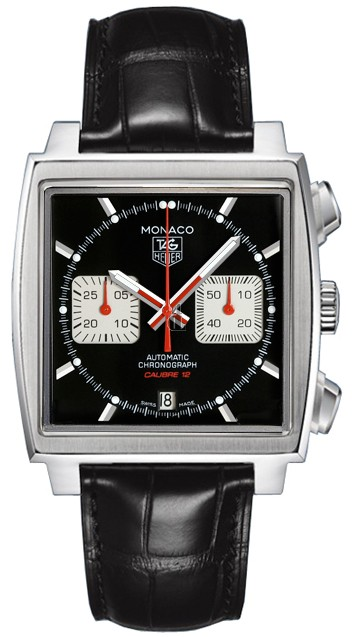 Replica TAG Heuer Monaco Calibre 12 Automatic Chronograph 39 mm CAW2114.FC6177