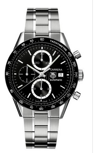 Replica TAG Heuer Carrera Calibre 16 Automatic Chronograph 41 mm CV2010.BA0786