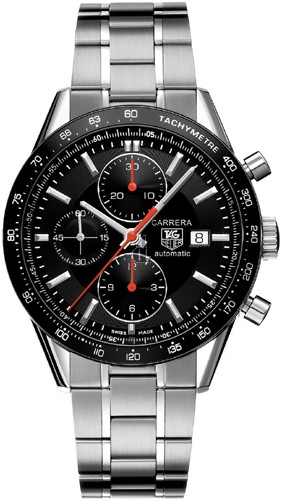 Replica Tag Heuer Carrera Calibre 16 Automatic Chronograph 41 mm  CV2014.BA0786