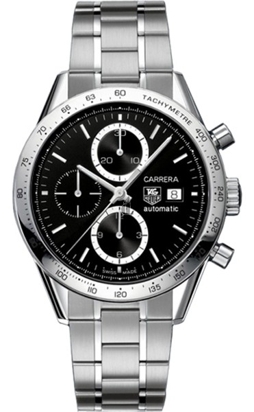 Replica Tag Heuer Carrera Automatic Chronograph Stainless Steel Watch CV2016.BA0794