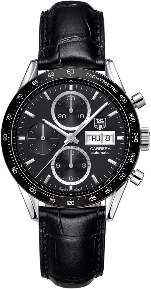 Replica TAG Heuer Carrera Calibre 16 Day Date Automatic Chronograph 41 mm CV201AG.FC6266