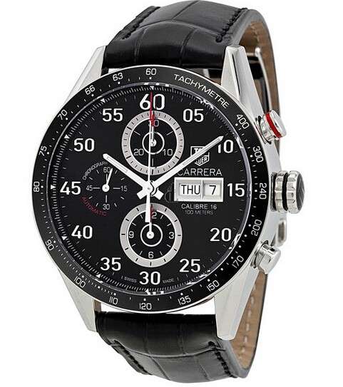 Replica Tag Heuer Carrera Day Date Automatic Chronograph CV2A10.FC6235