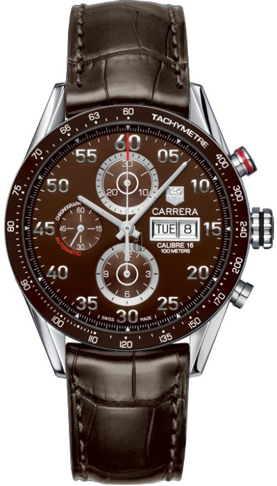Replica Tag Heuer Carrera Calibre 16 Day-Date Automatic Chronograph 43mm CV2A12.FC6236