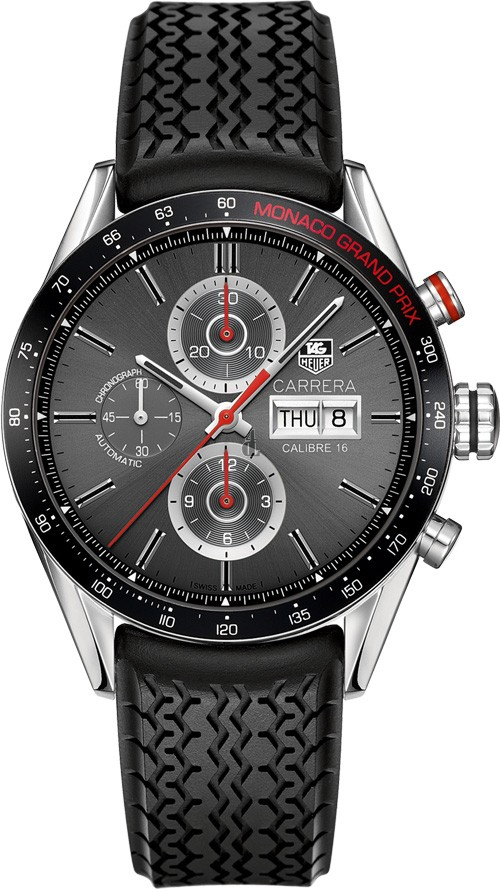 Replica Tag Heuer Carrera Calibre 16 Day Date Monaco Grand Prix Chronograph CV2A1M.FT6033