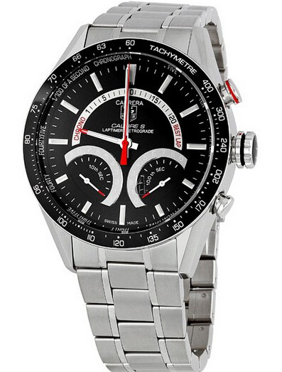 Replica TAG Heuer Carrera Calibre S Laptimer Mens Watch CV7A10.BA0795