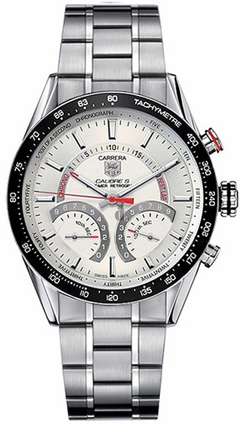 Replica TAG Heuer Carrera Calibre S Laptimer Mens Watch CV7A11.BA0795