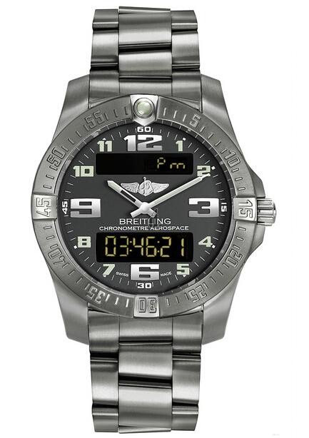 Breitling Professional Aerospace Evo Watch E7936310/F562 152E  replica.