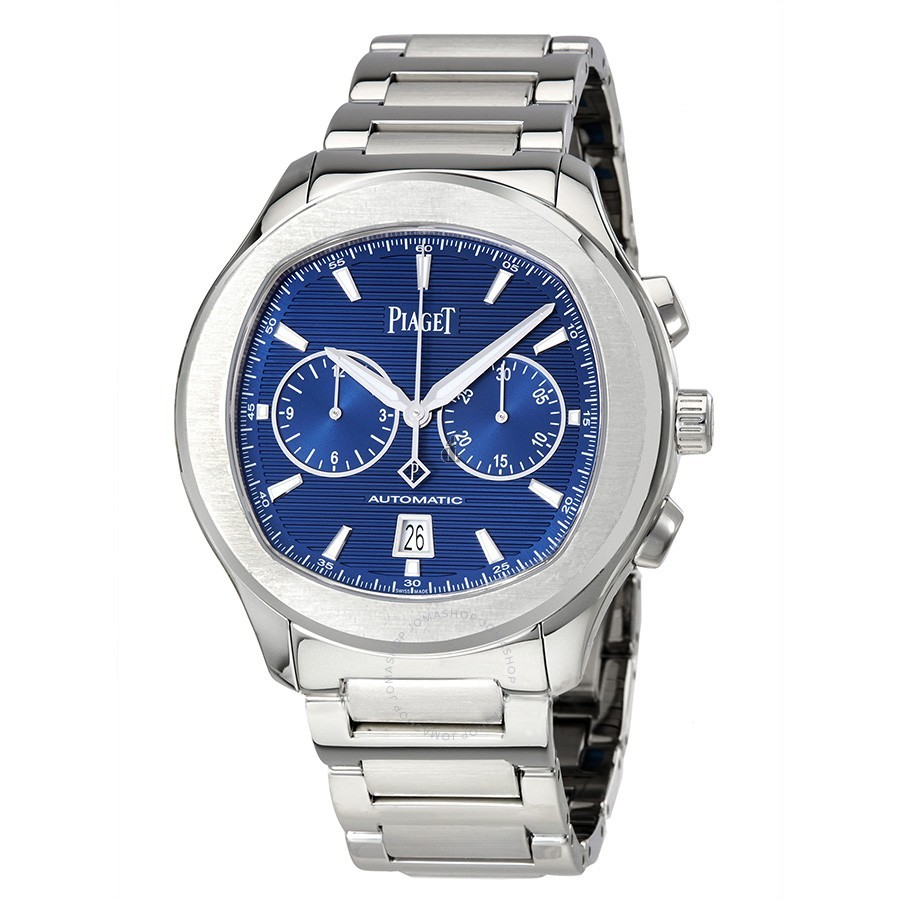 Piaget Polo S Automatic Chronograph Blue Dial Men's G0A41006