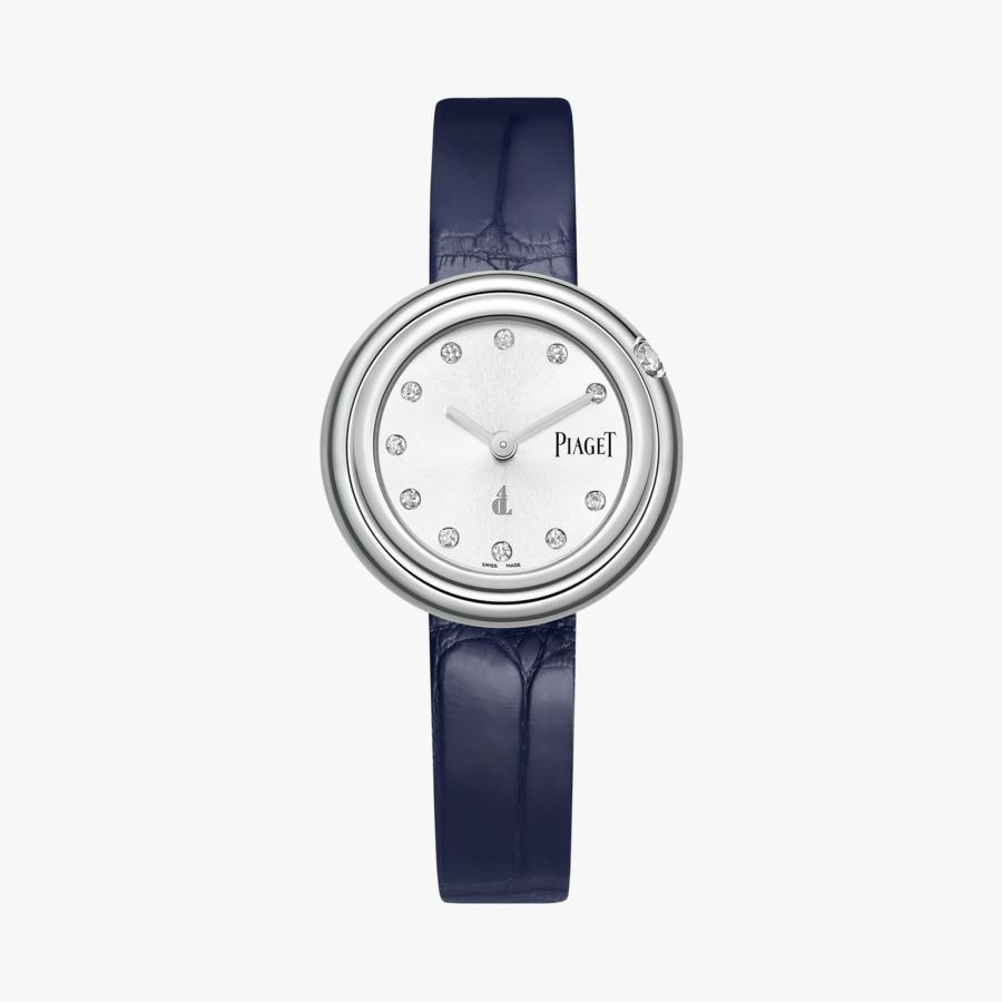 Piaget Possession Diamond Silver Dial Ladies Leather G0A43080