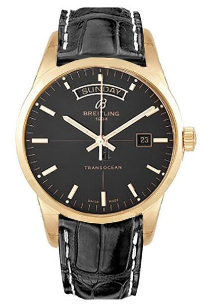 Breitling Transocean Day Date Watch R4531012/BB70 744P  replica.