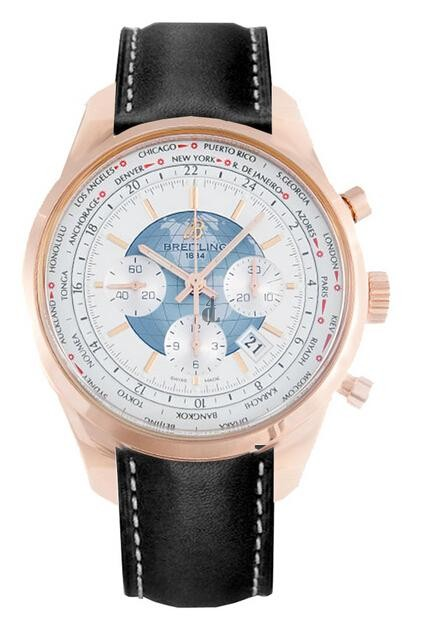 Breitling Transocean Chronograph Unitime Watch RB0510UO/A733  replica.