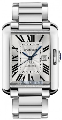 AAA quality Cartier Tank Anglaise Large Mens Watch W5310025 replica.