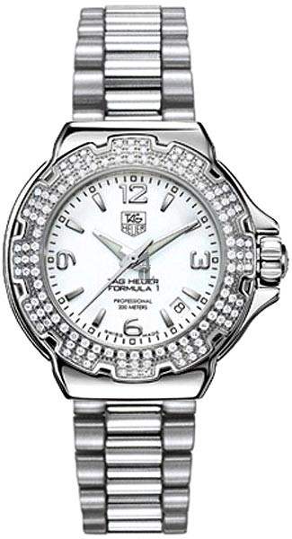 Replica Tag Heuer Formula 1 Diamond Bezel 37 mm  WAC1215.BA0852