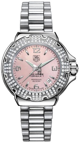 Replica Tag Heuer Formula 1 Quartz Diamond Ladies Watch WAC1216.BA0852