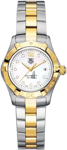 Replica Tag Heuer Aquaracer Diamond dial 27mm Ladies Watch WAF1425.BB0825