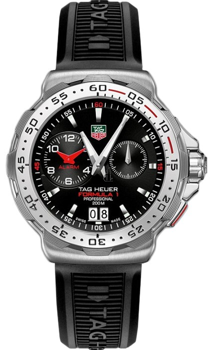 Replica Tag Heuer Fomula 1 F1 Alarm Mens Quartz Steel Watch WAH111C.BT0714