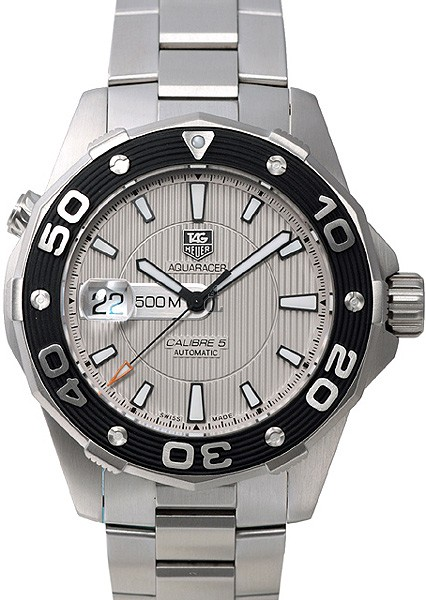 Replica Tag Heuer Aquaracer 500 M Calibre 5Automatic Watch 43 mm WAJ2111.BA0870