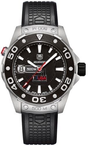 Replica Tag Heuer Aquaracer 500M Calibre 5 Automatic Watch 43mm WAJ2118.FT6015
