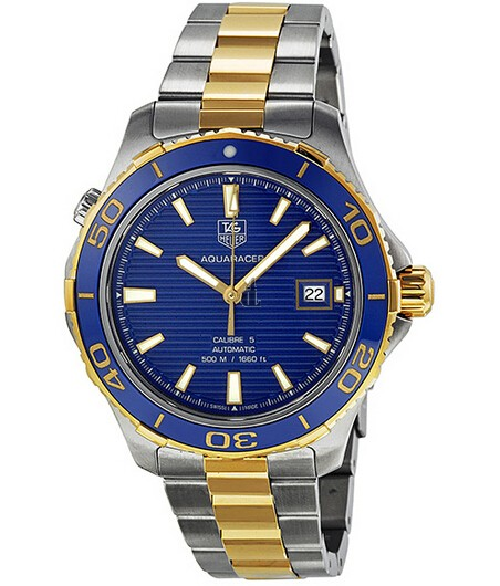 Replica Tag Heuer Aquaracer 500M Calibre 5 Automatic Watch 41mm WAK2120.BB0835