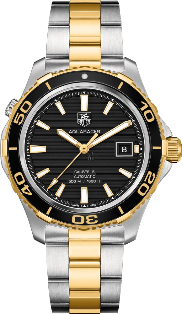 Replica Tag Heuer Aquaracer 500M Calibre 5Automatic Watch41 mm  WAK2122.BB0835