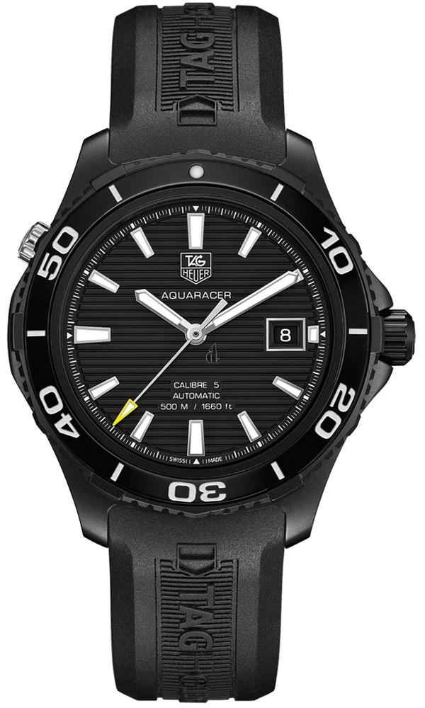 Replica Tag Heuer Aquaracer 500 M Calibre 5Automatic Watch41 mm WAK2180.FT6027