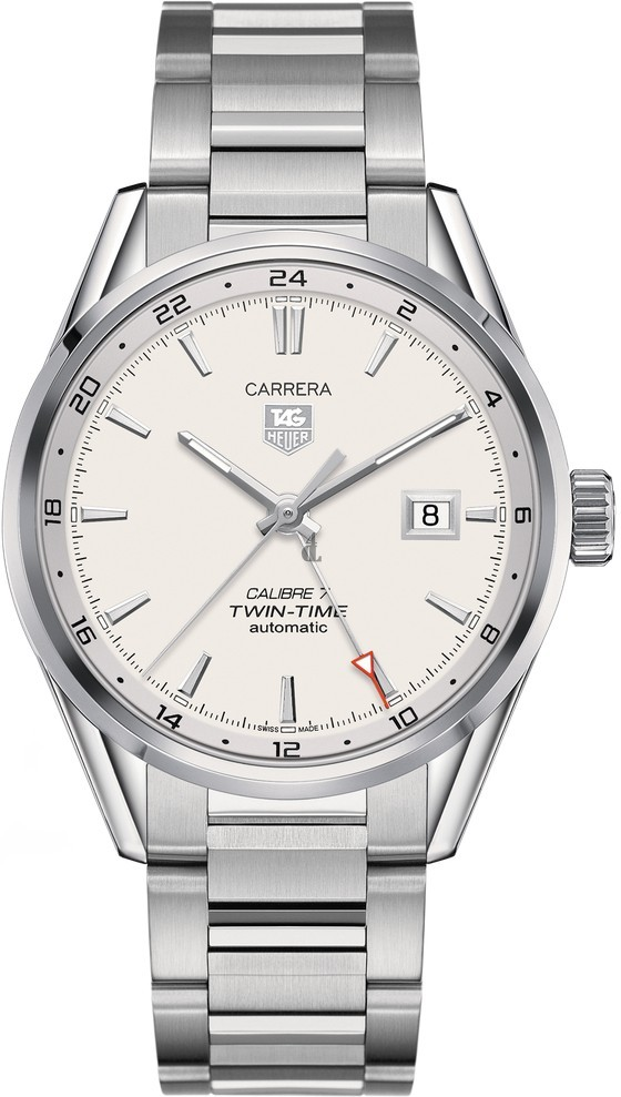 Replica TAG Heuer Carrera Calibre 7 Twin Time Automatic Watch 41 mm  WAR2011.BA0723