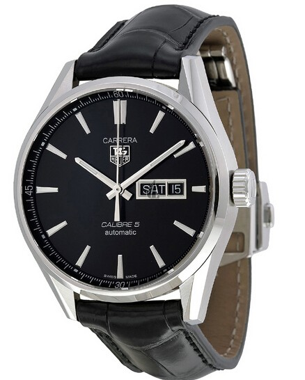 Replica Tag Heuer Carrera Calibre 5 Day-Date Automatic 41mm WAR201A.FC6266
