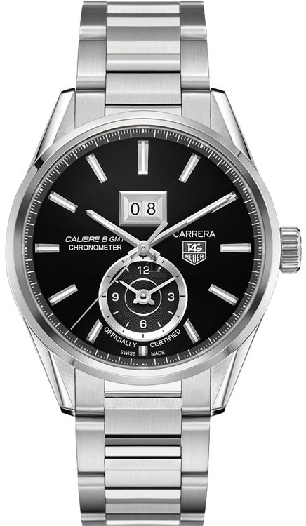 Replica Tag Heuer Carrera Calibre8 Grande Date GMT  WAR5010.BA0723