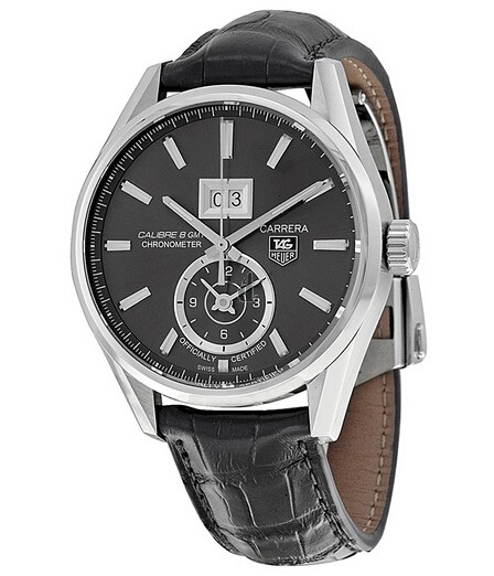 Replica TAG Heuer Carrera Calibre 8 GMT and Grande Date Automatic watch 41mm WAR5012.FC6326