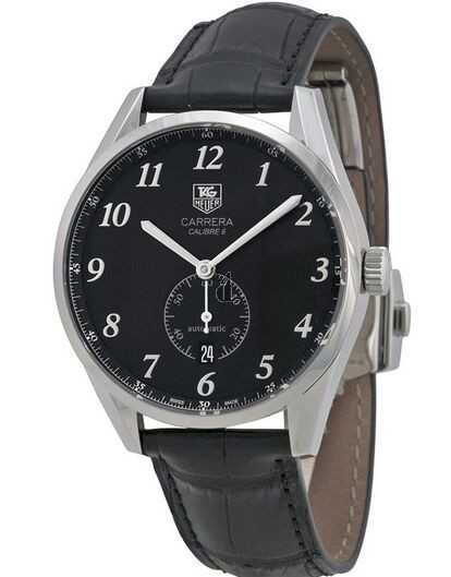 Replica Tag Heuer Carrera  Calibre 6 Heritage Automatic Mens Watch WAS2110.FC6180