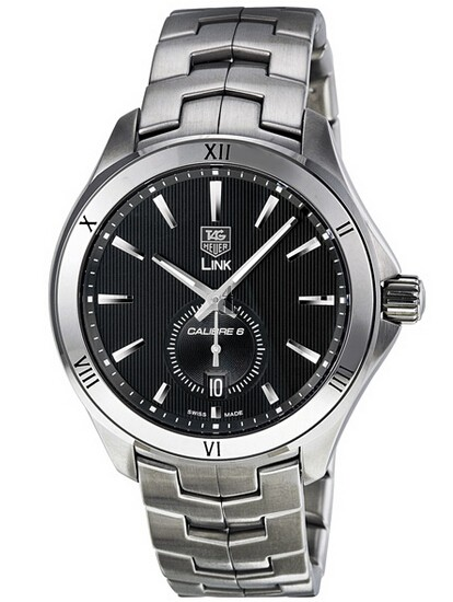 Replica Tag Heuer Link Automatic Black Dial Stainless Steel Mens watch WAT2112.BA0950