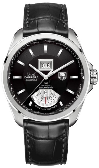 Replica TAG Heuer Grand Carrera Calibre 8 RS Grande Date and GMT Automatic watch WAV5111.FC6225