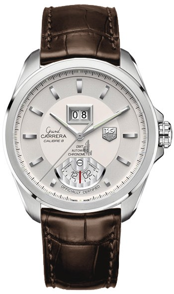 Replica TAG Heuer Grand Carrera Calibre 8 RS Grande Date and GMT Automatic watch  WAV5112.FC6231