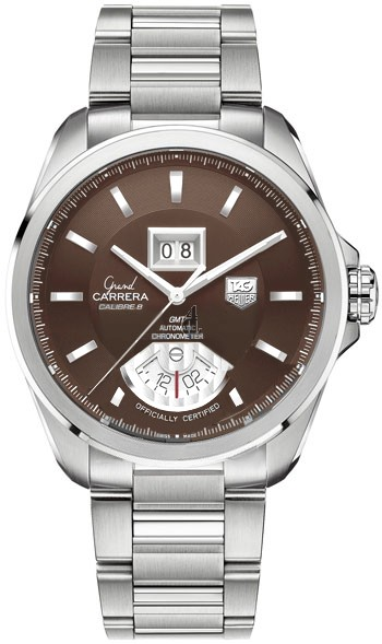 Replica TAG Heuer Grand Carrera Calibre 8 RS Grand Date GMT Automatic watch WAV5113.BA0901