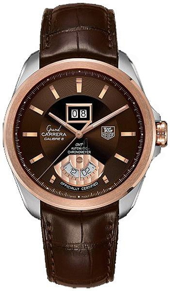 Replica TAG Heuer Grand Carrera Calibre 8 RS Grande Date and GMT Automatic watch WAV5153.FC6231
