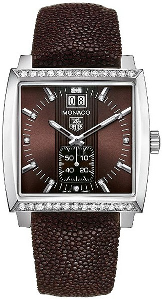 Replica Tag Heuer Monaco Quartz Ladies watch WAW1316.EB0025
